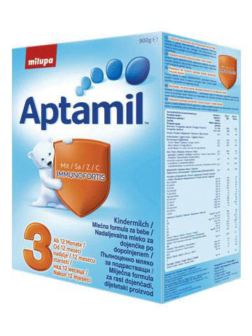 APTAMIL  Адаптирано мляко за бебета  3  800гр.